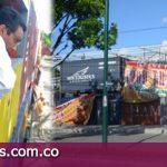 Sellada obra de construcción de tráilers de comida en el barrio Balatá