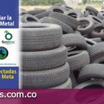 Diez mil llantas usadas se recolectaron en Granada Meta