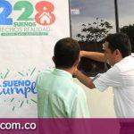 """""""Seguimos cumpliendo el Plan de Desarrollo':Alcalde Wilmar Barbosa"""