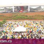 Así vivieron los feligreses la misa campal celebrada por el Papa Francisco en Villavicencio