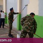 Campaña de embellecimiento y pintura de los colegios