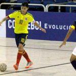 Cuota Metense en la Seleccion Colombiana de Futsal