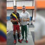 Hugo Montes, Pesista Metense en los Juegos Suramericanos