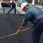 Continúan Trabajos Viales en la Comuna 8