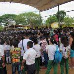 Estudiantes de Cumaribo/Vichada en la Semana de la Lectura