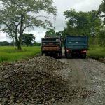 Avanzan Obras Viales en Puerto Aljure