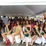 Candidatas al Reinado del Joropo en el Día del Talabartero