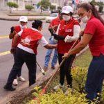 Funcionarios de la Gobernación se Suman al Embellecimiento de Villavicencio