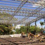 Parque Lineal del Barrio Dos Mil Entra en Última Etapa de Contrucción