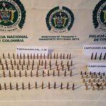 Policía de Tránsito Incauta 108 Proveedores en Granada