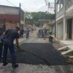 Recuperación Vial en los Barrios San Jorge y Nuevo Horizonte