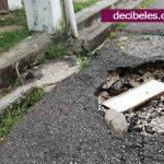 Se desperdicia agua potable en el barrio Recreo.