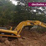 Maquinaria lista para habilitar antigua vía Bogotá