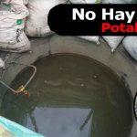 Barrio Quintas de San Fernando sin Agua Potable