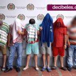 Capturan a seis hombres por los delitos de actos sexuales abusivos