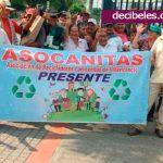 'Asocanitas' se toma Villavicencio.