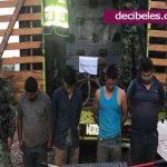 Cuatro personas capturadas por robo
