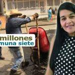 Cerca de 53 mil millones en inversión en la Comuna 7