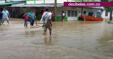 Sigue en alerta Guamal por las inundaciones