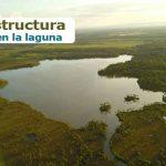 Construirán una infraestructura liviana en la laguna de Lomalinda