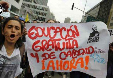 Continuarán las marchas por la educación