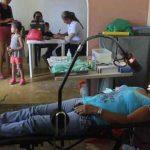 Brigada de Salud en Puerto Gaitán
