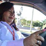 Mujeres al volante.
