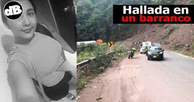 Hallada la joven desaparecida el pasado viernes en la ciudad de Villavicencio, lastimosamente fue encontrada sin signos vitales en un barranco por la vía que comunica a la capital llanera con la ciudad de Bogotá.