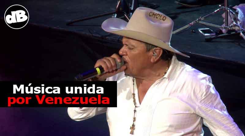 """""""El Cholo""""cantará en 'Venezuela Aid Live'"""