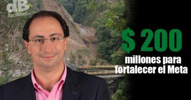 Con más de $200.000 millones buscan favorecer el tejido empresarial y el turismo del Meta