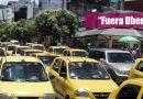 Taxistas de Villavicencio se une al paro nacional.