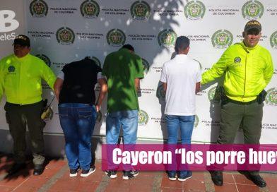 Capturado grupo delincuencial dedicado al hurto en Villavicencio