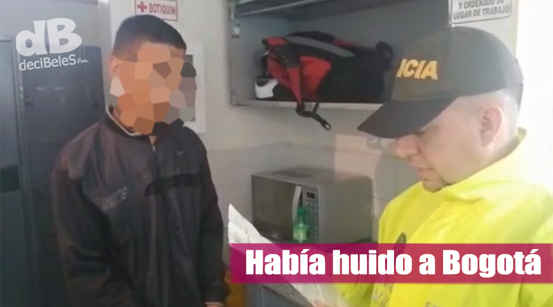 Capturado presunto responsable del homicidio del menor de 4 años en Villavicencio