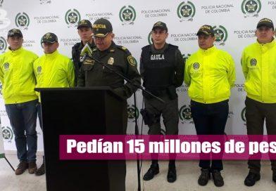 Capturan a un hombre y una mujer por extorsión en Villavicencio