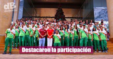 Marcela Amaya y el director de Idermeta felicitaron a los deportistas de juegos nacionales y paranacionales