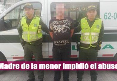 Hombre fue capturado tras intentar abusar sexualmente de una niña de 7 años