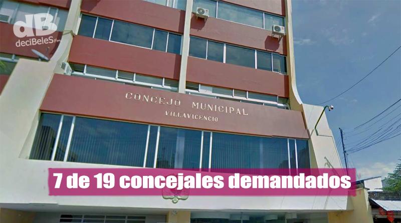 Van 7 demandas contra elección de concejales en Villavicencio