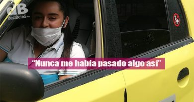 En tiempos de coronavirus, nace una bebé en un taxi de Villavicencio