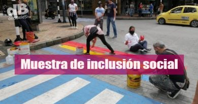 Villavicencio se pintó de orgullo en el Día del Orgullo Gay