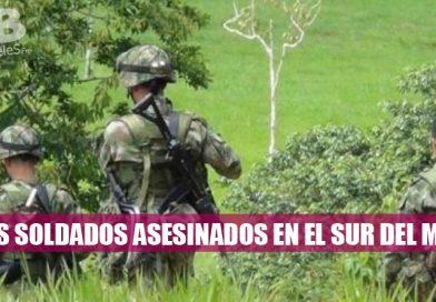 Seis soldados asesinados en el sur del Meta