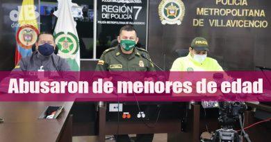 Policía Metropolitana logró la captura de ocho depredadores sexuales