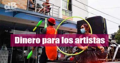 Incentivos económicos para artistas de Villavicencio