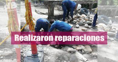 Secretaría de Infraestructura recupera puente de Las Mercedes