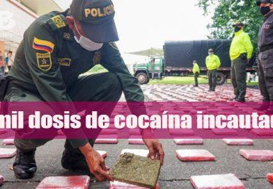 Incautación de estupefacientes permite sacar de las calles miles de dosis destinadas al microtráfico