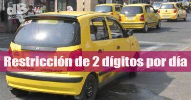 Así regirá el pico y placa para taxis en Villavicencio