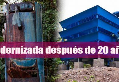 EAAV modernizó la planta de tratamiento de agua de Bosques de Abajam