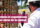 Secretaría de Control Físico inspeccionó las obras del complejo deportivo José Eustasio Rivera
