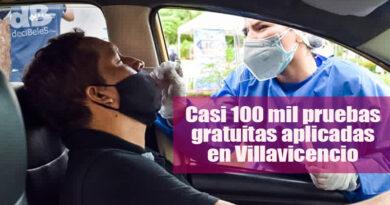 Más de 95 mil pruebas de Covid-19 se han aplicado en Villavicencio