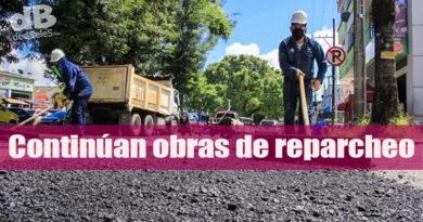 Obras de recuperación de la malla vial avanzan por toda la ciudad