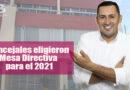 Oscar Yesid Rodríguez, del Centro Democrático, elegido presidente del Concejo de Villavicencio